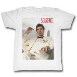 Scarface Movies Chillin Adult Short Sleeve T Shirt