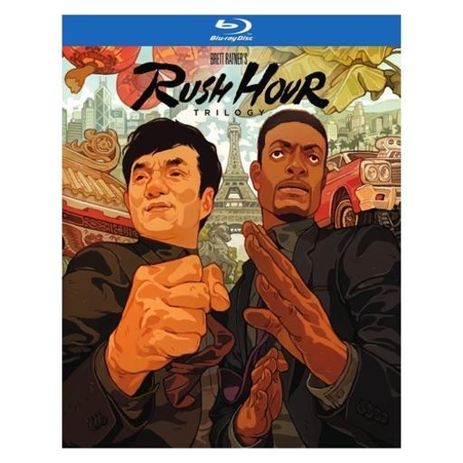 Rush hour trilogy (blu-ray/4 disc) QEQ0YPORPOFZV4RM
