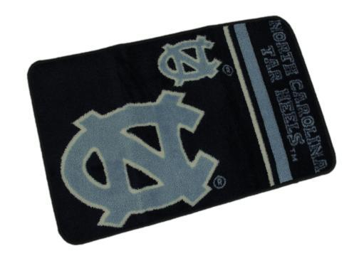 University of North Carolina Tar Heels 20 By 30 Inch Tufted Non-Skid Bath Rug