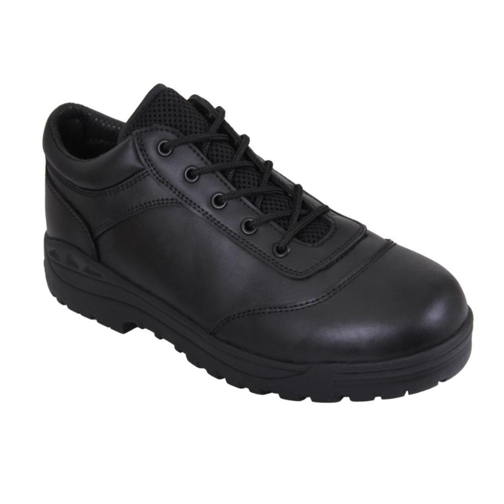 Rothco 5116 Tactical Utility Oxford, Law Enforcement Duty Shoe, Black