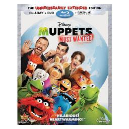Muppets-most wanted (blu-ray/dvd/dc/2 disc combo) BR120768