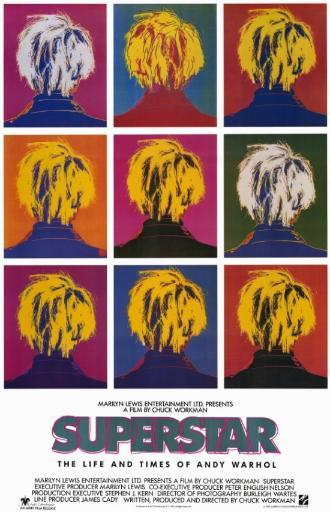 Superstar The Life and Times of Andy Warhol Movie Poster (11 x 17) EU8RB7XOQGQBIPRM