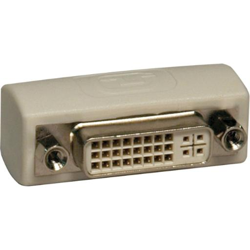 Tripp lite p162-000 dvi coupler gender changer adapter f/f