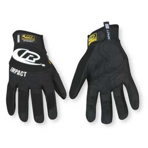 Ringers Gloves 143-10 Large Black Split Fit Glove