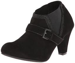 ALL BLACK Women's Stretch Belted Boot, Black, 37 EU/6.5 M US