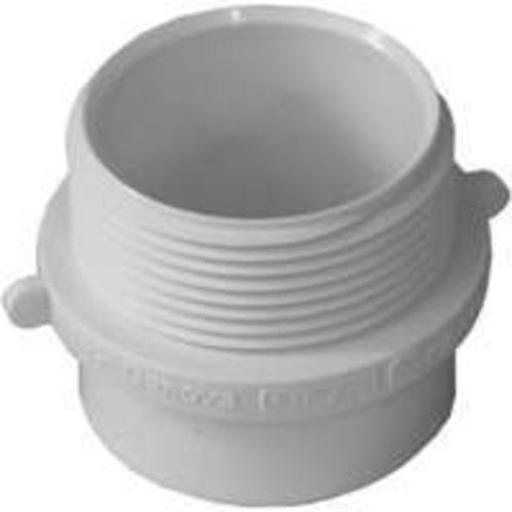 Genova 72411 Pvc-dwv Fitting Adapter 1-1/2