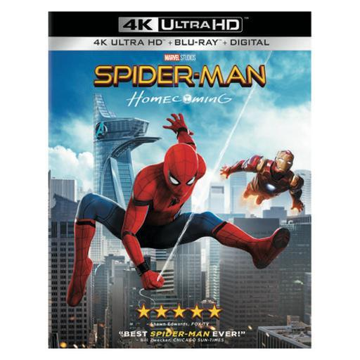 Spiderman-homecoming (blu ray/4-k/ultraviolet combo) 1313038