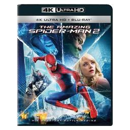 Amazing spiderman 2 (blu-ray/4k-uhd/mast/ultraviolet/dol dig 5.1/2 disc) BR47040