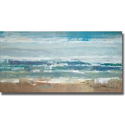Artistic Home Gallery 1836501S Pastel Waves By Peter Colbert Premium Stretched Canvas Wall Art 1836501S