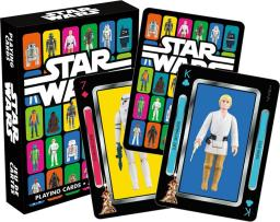 Star Wars Action Figures Playing Cards Luke Skywalker Leia Han Solo Yoda Gift