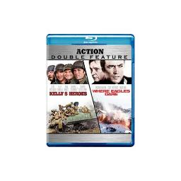KELLYS HEROES/WHERE EAGLES DARE (BLU-RAY/DBFE) 883929125685