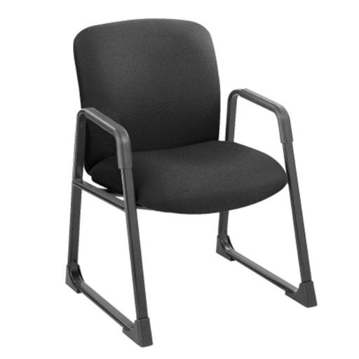 Safco 3492BL Black Uber Big and Tall Guest Chair