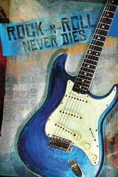 Rock-N-Roll Never Dies Poster Print by Mollie B. (20 x 30) PENMOL465