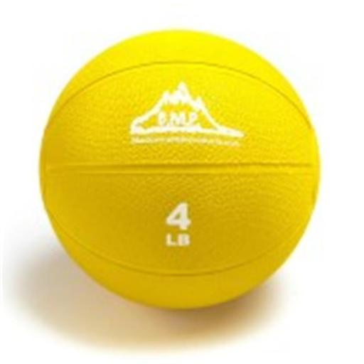 Black Mountain Products BMP Medicine 4 Professional Medicine Ball, Yellow