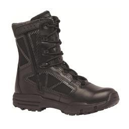 "Belleville 998ZWPCT TR Chrome 8"" Composite Toe Side Zip Waterproof Black Boot TR998ZWPCT 100R"
