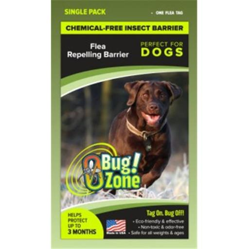 0Bug Zone Flea Barrier Tag for Dogs