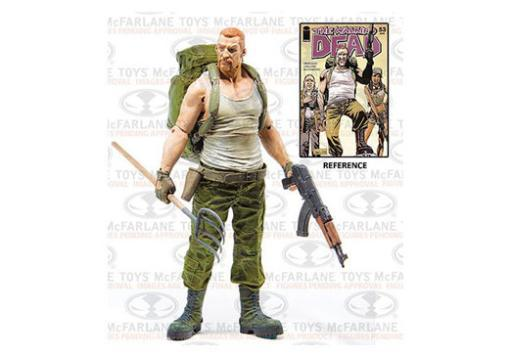 Mcf-the walking dead comic series 4 abraham ford (5 inch figure)-nla 60LJB2AKT0MFS78E