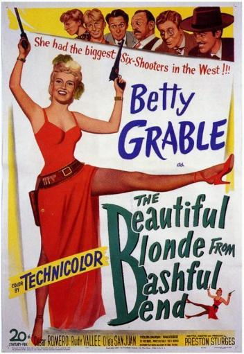 The Beautiful Blonde from Bashful Bend Movie Poster Print (27 x 40) 821925