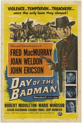 Day of the Bad Man Movie Poster (11 x 17)
