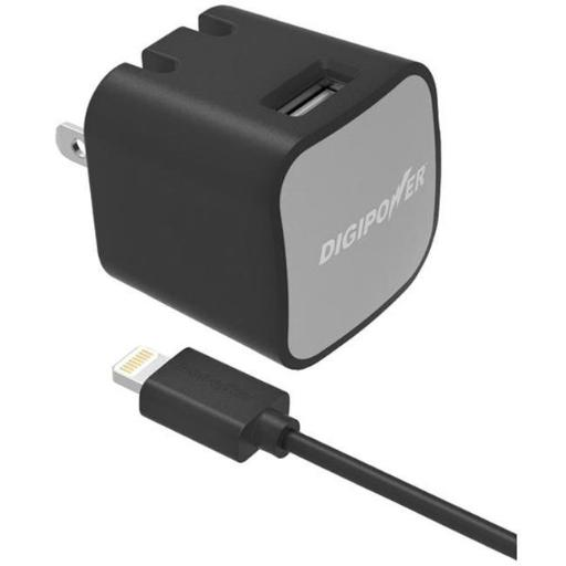 Digipower Is-ac2l Instasense 2.4-amp Single Usb Wall Charger - 1.5m Lightning- tm Cable