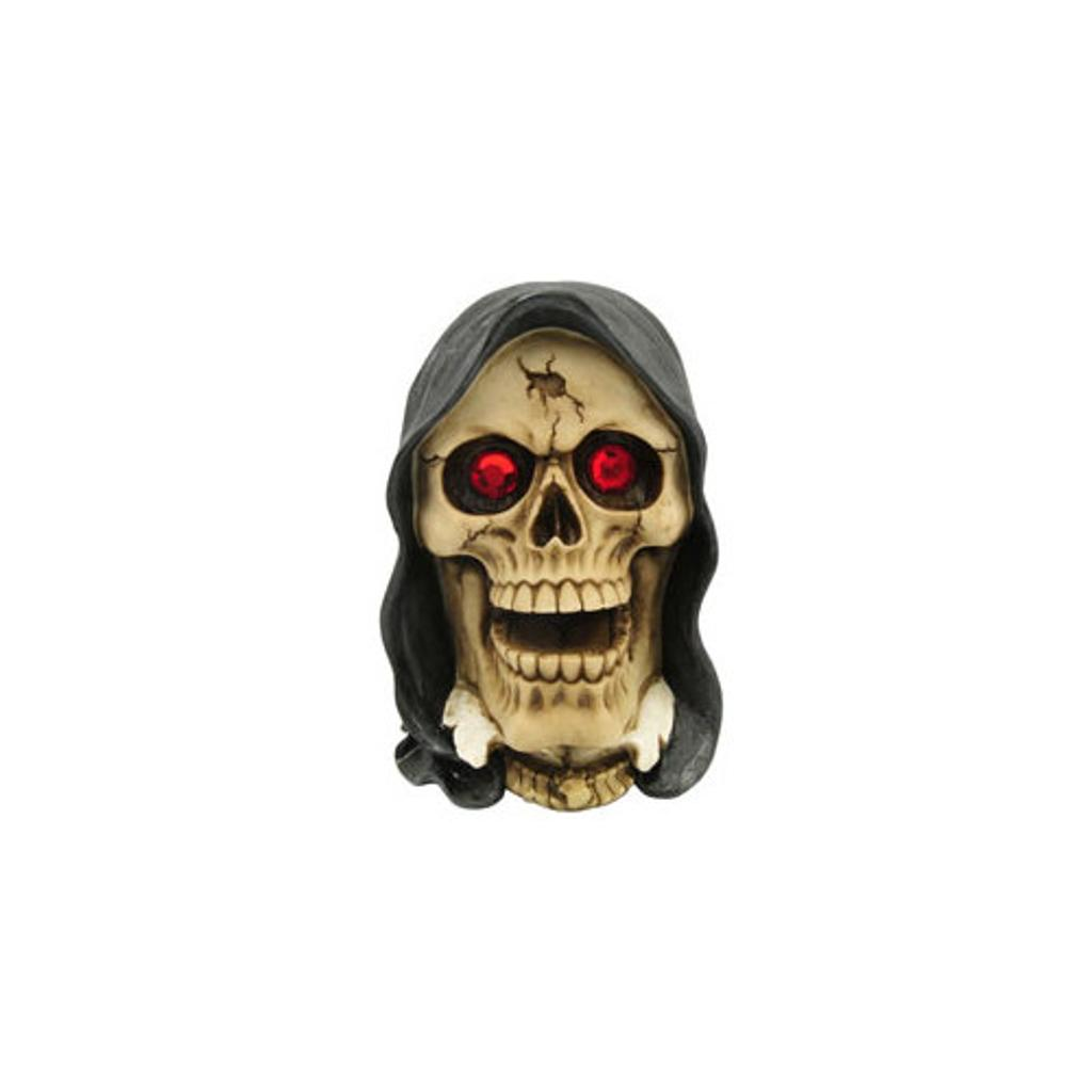 Das novelty p714867 skull with hood