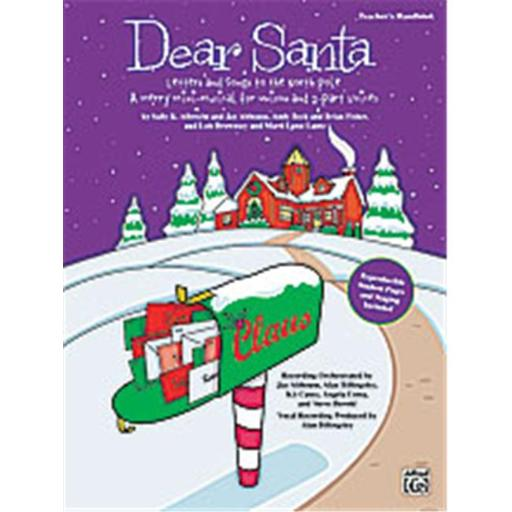 Alfred 00-24045 Dear Santa- Letters and Songs to the North Pole - Music Book INCST71HWLIV56FQ