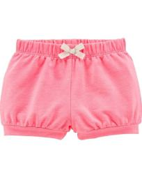 Carter's Baby Girls' French Terry Pull On Bubble Shorts, Pink, 9 Months