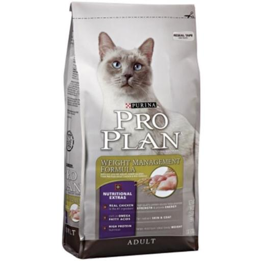 Provi 381623 3.5 lbs Pro Plan Focus Adult Weight Management Dry Cat Food - Pack of 6