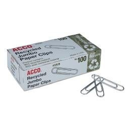 Paper Clips Jumbo Silver 1,000 Per Pack | 1 Pack of: 1000