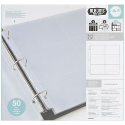 American Crafts We R Ring Photo Sleeves 12x12 and 6X6 inch