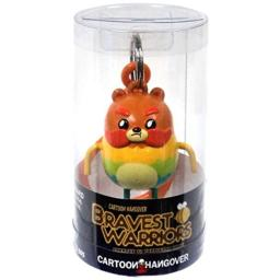 Official Bravest Warriors Impossibear Keychain Toy Figure