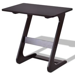 Z-Shape Console Coffee Tray Laptop End Sid Table
