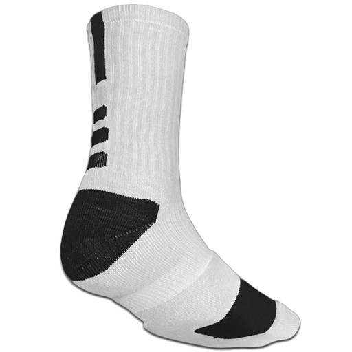 Coolmaxx Ultra-Durability Dri-Tech Compression Sport Socks - 1 Pair (White/Black) 688FF80F9355D278