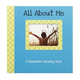 C.R. Gibson Gibby & Libby Keepsake Coloring Book, All About Me