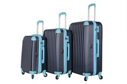 Brio Luggage Hardside Spinner Luggage Set #808 Navy - Navy/Blue
