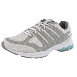 Avia Women's AVI-Versa Running Shoe, Cool Mist White/Frost Grey, 8.5 M US