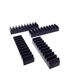Lego® Parts: Technic, Gear Rack 1 x 4 (Pack of 4 - Black)
