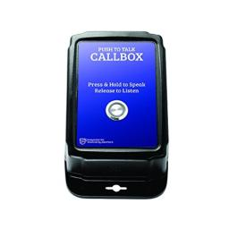 AlertTech EA-200-HD-PTT Easy Assist Water Resistant Call Box with PTT Button