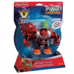 "Fisher-Price Mars ""Digger"" Voice Comm Planet Heroes"
