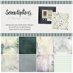"""49 and Market SC88800 Collection Pack 12""""X12""""-Serendipitous, Multi"""