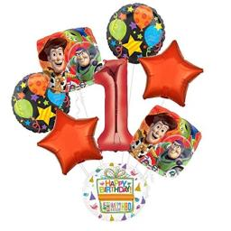 Toy Story 1st Birthday Party Supplies Balloon Bouquet Decorations