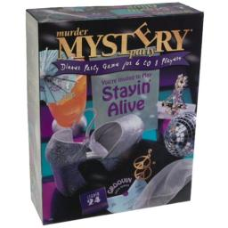 University Games Murder Mystery Party - Staying Alive