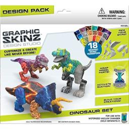 RoseArt Graphic Skinz Design Set Dinosaur set