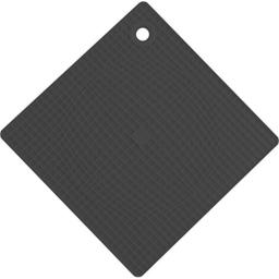 Casabella Silicone Pot Holder-Trivet, 7 by 7-Inch, Gray