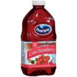 Ocean Spray Cranberry Strawberry Juice Drink, 64-Ounce (Pack of 8)