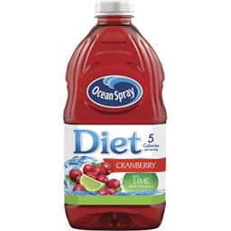 Ocean Spray Diet Cranberry Juice Drink with Lime, 64 Ounce