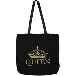 """African American Expressions - Queen Woven Tote Bag (Chenille, 17"""" x 17"""") WTB-03"""
