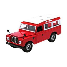 Old Land Rover Red 1/24 by BBurago 22063