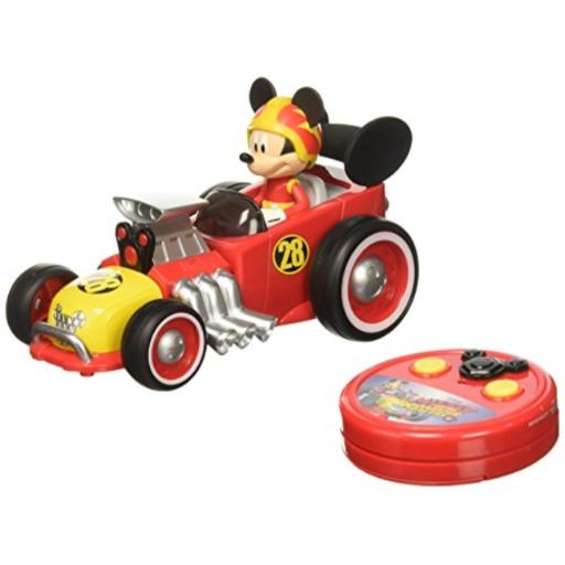 Jada Toys Disney Mickey Roadster Racer RC Vehicle Spin feature*Forward & reverse*Alkaline Battery