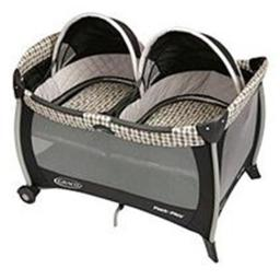 Graco 1812884 Pack N Play Playard with Twins Bassinet, Vance